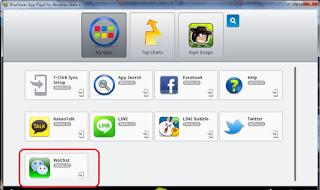 Aplikasi WeChat di Komputer PC/Laptop