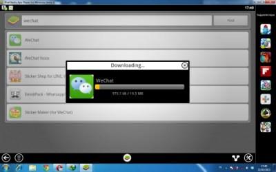 Cara Install aplikasi wechat
