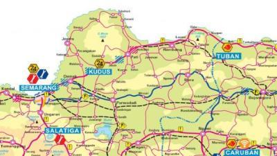 Gambar Peta Mudik Lebaran 2013