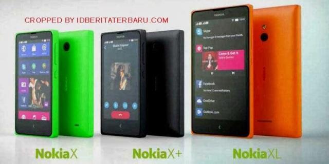 Spesifikasi Nokia Android X, X+ dan XL